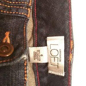 Capri-style jeans